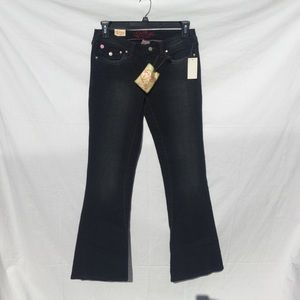 Quincy by Jessica Simpson Black Jeans size 9